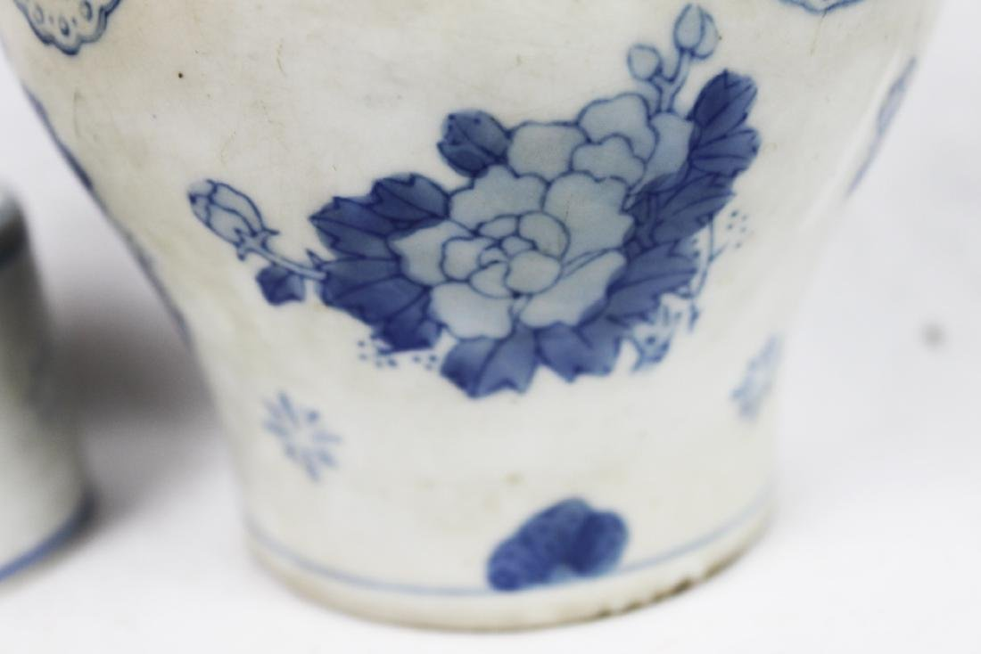 Antique Chinese Porcelain Liquior Bottle - 4