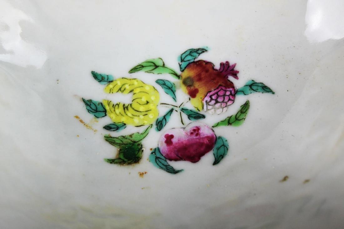 A Pair Antique Chinese Porcelain Planter - 10