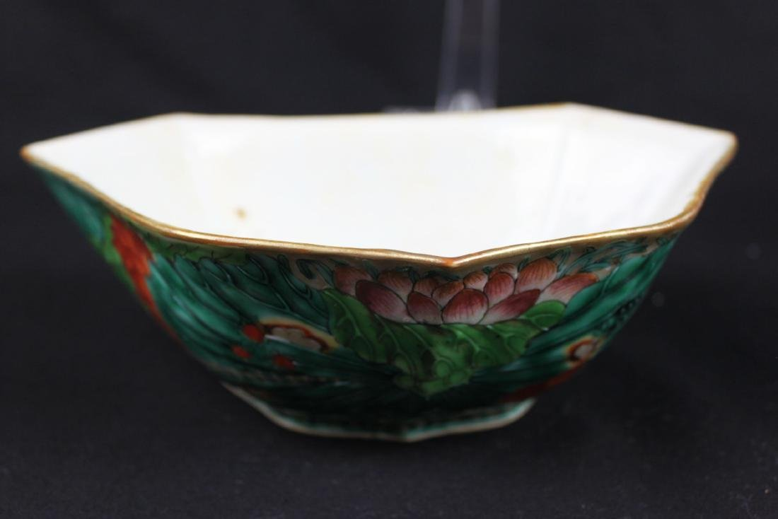 A Pair Antique Chinese Porcelain Planter - 3