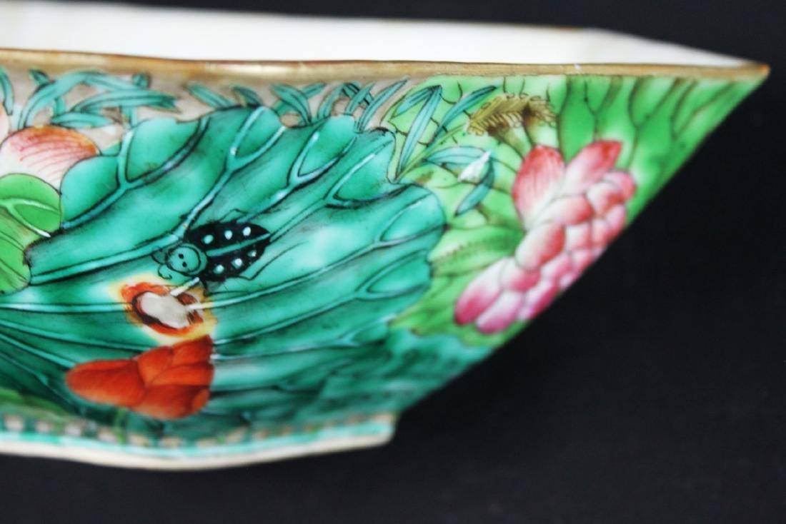 A Pair Antique Chinese Porcelain Planter - 8