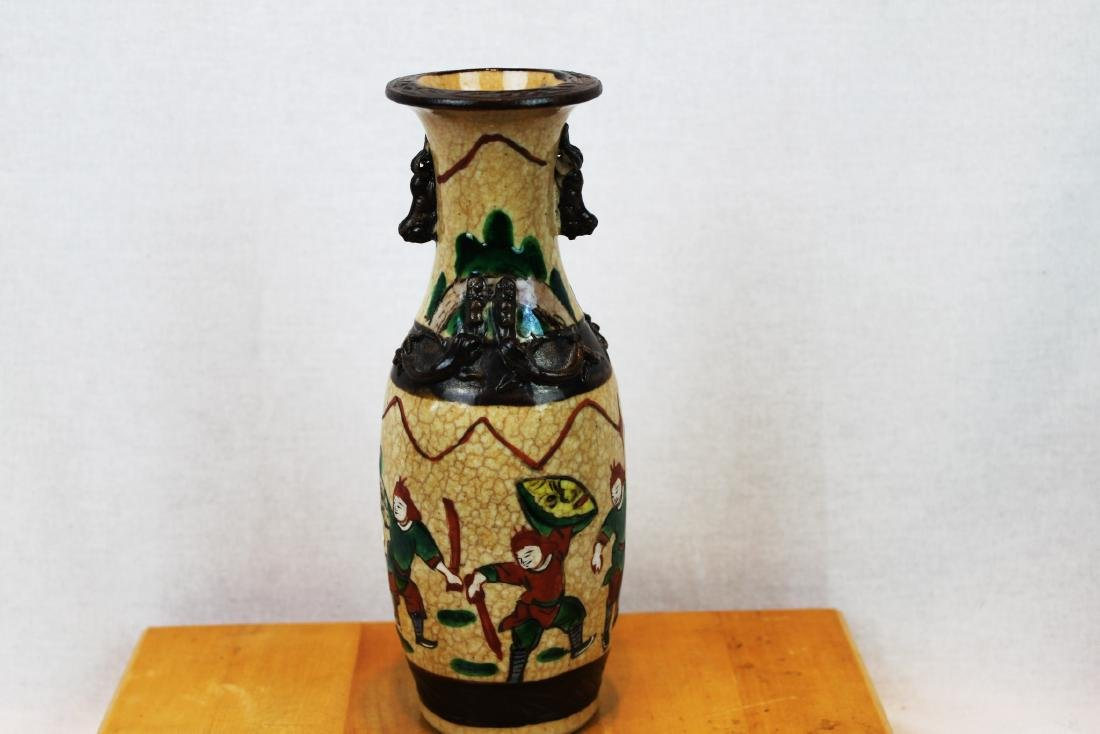 A pair of antique Chinese Porcelain Vase - 5