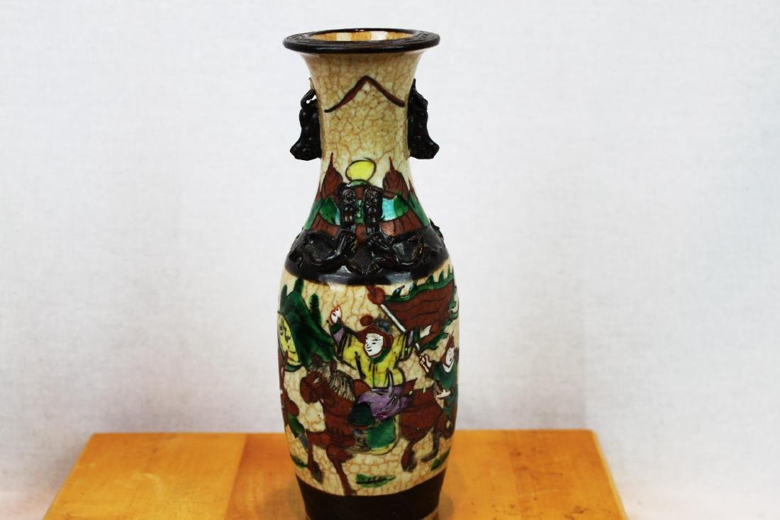 A pair of antique Chinese Porcelain Vase - 8