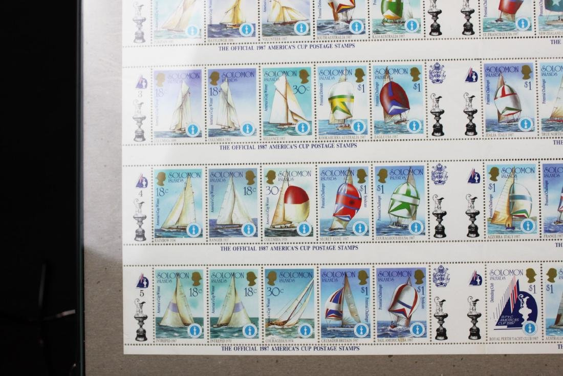 Soloman Island Stamps - 4