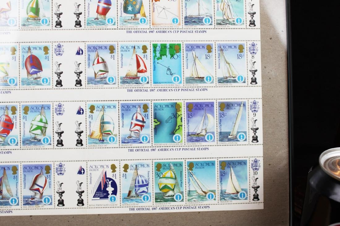 Soloman Island Stamps - 5