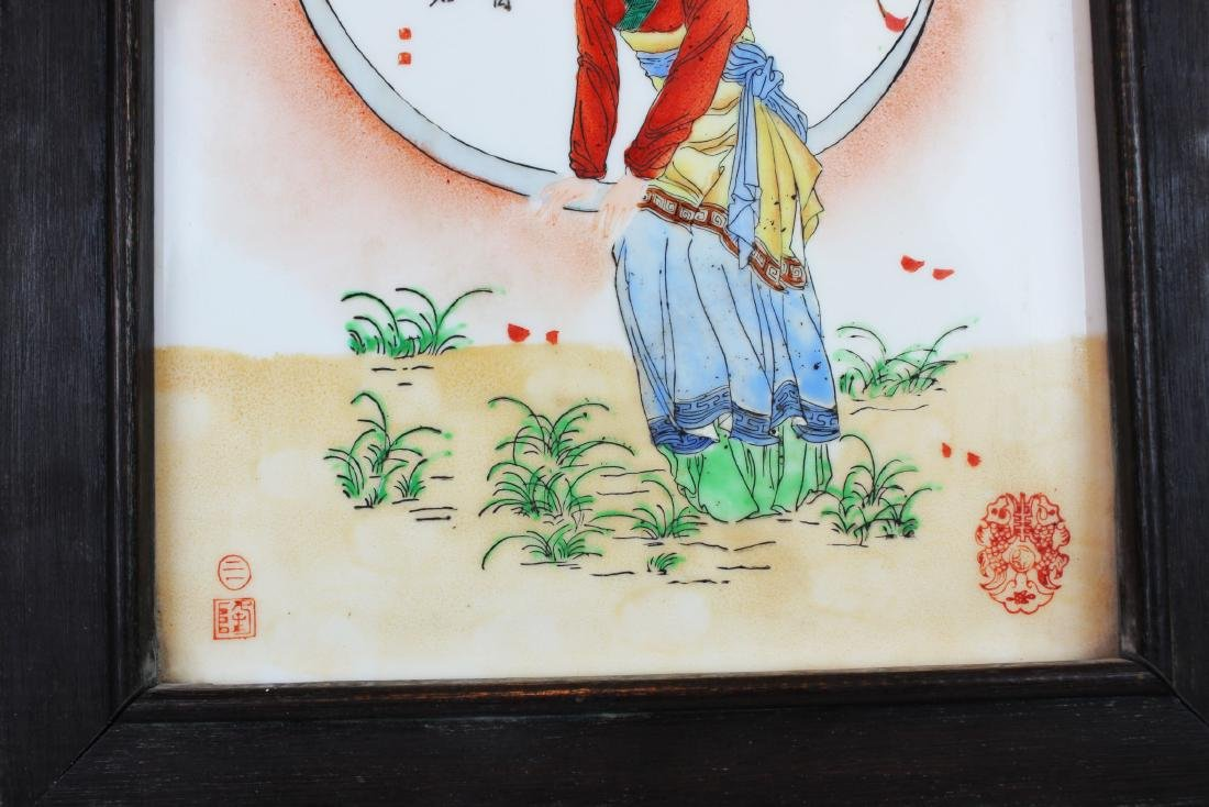 Antique Chinese Porcelain Painting - 4
