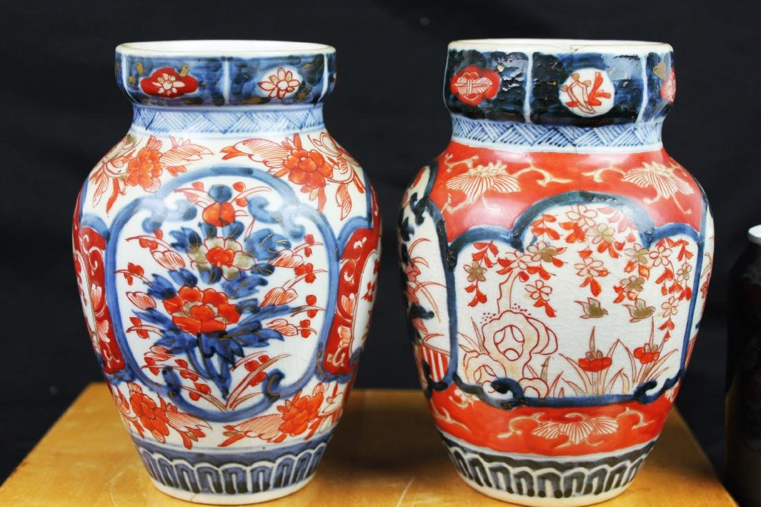 Pair of Antique Chinese Vases
