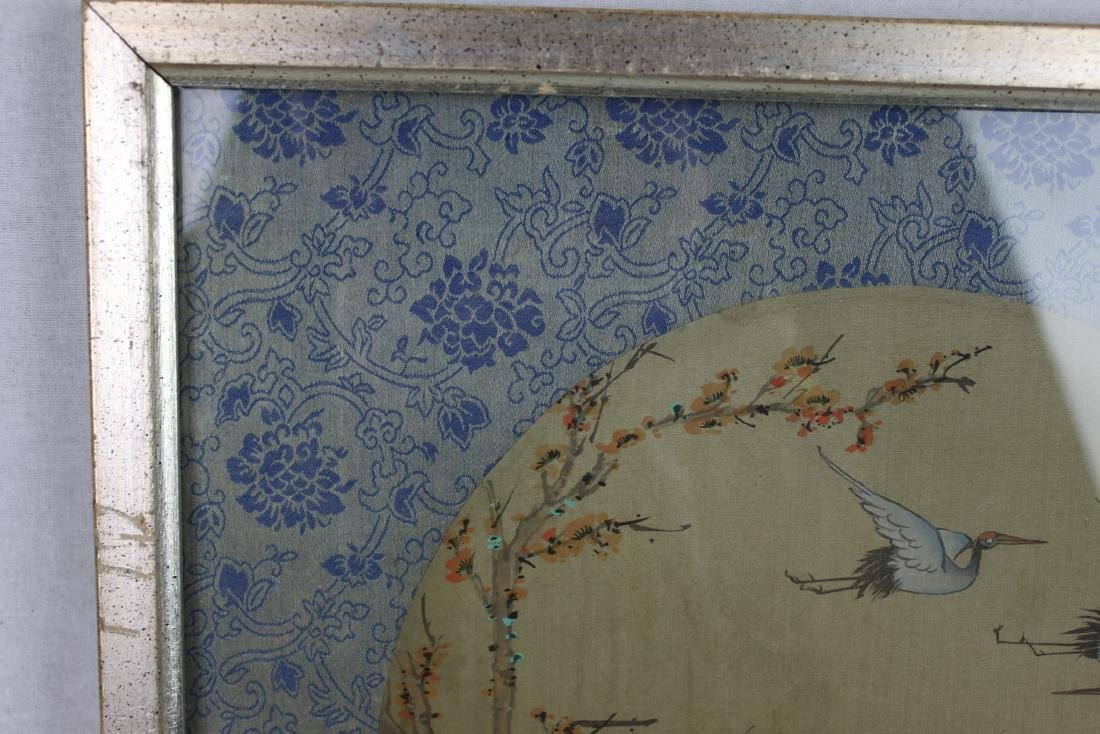 Antique Chinese Silk Painting - 2