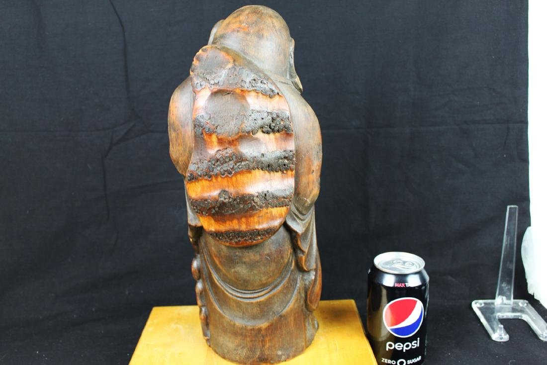 Antique Hand Carved Buddha Statue - 10