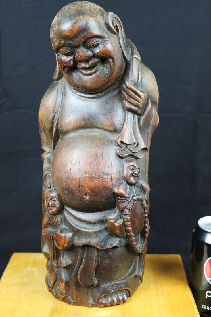 Antique Hand Carved Buddha Statue