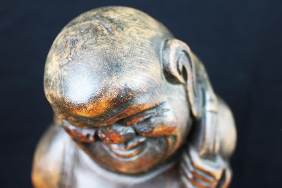 Antique Hand Carved Buddha Statue - 2