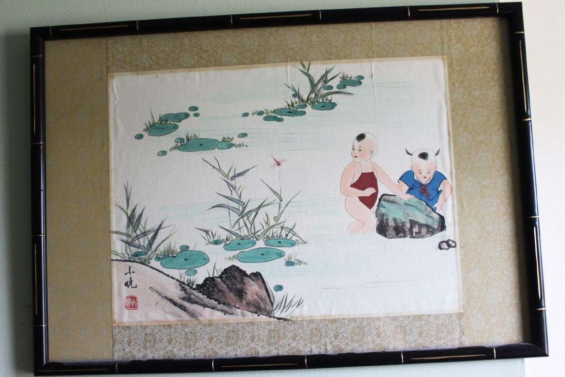 Chinese Color Painting