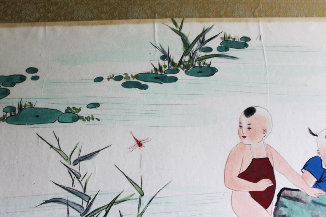 Chinese Color Painting - 3