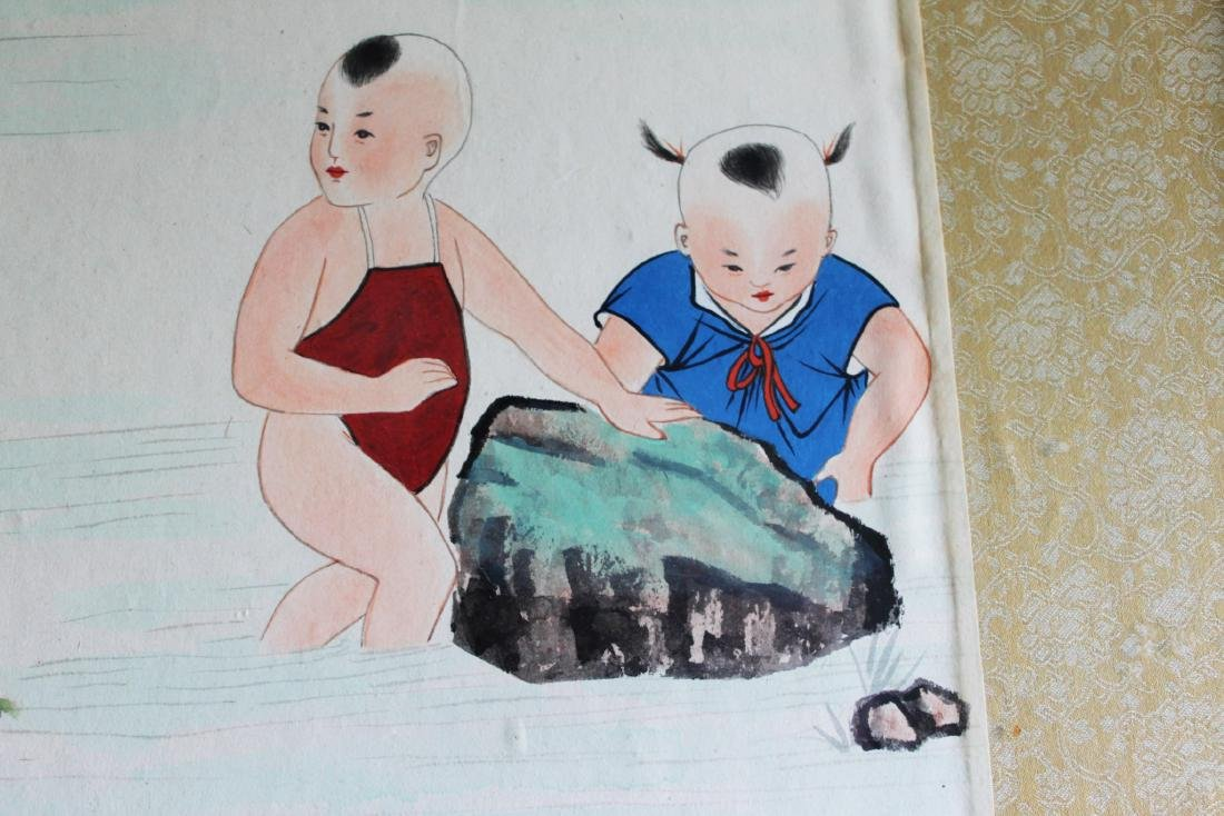 Chinese Color Painting - 5