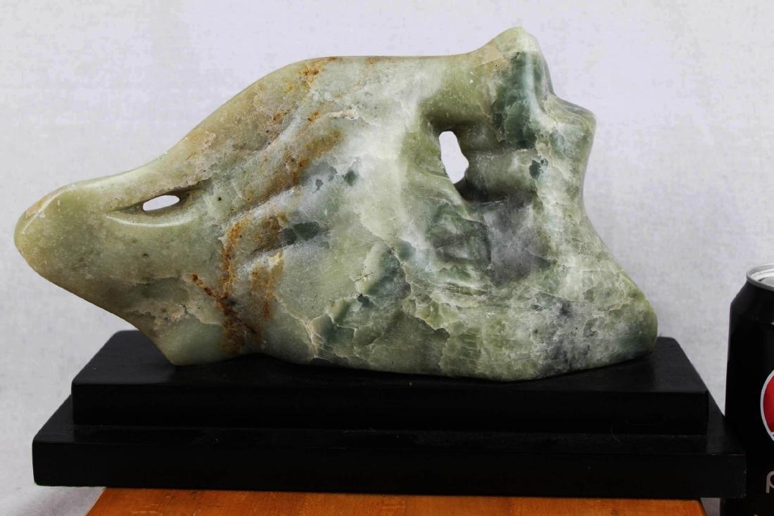 Hand Carved Stone Jade