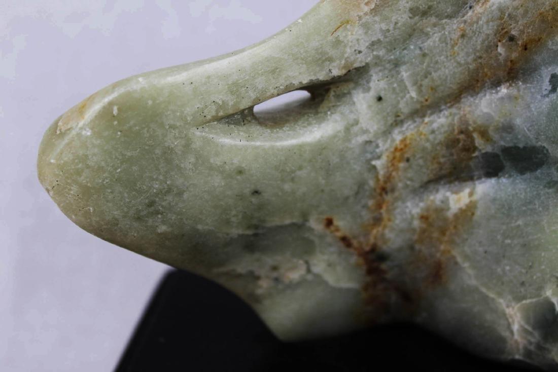Hand Carved Stone Jade - 2