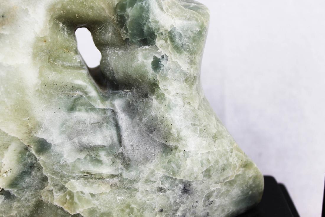 Hand Carved Stone Jade - 5