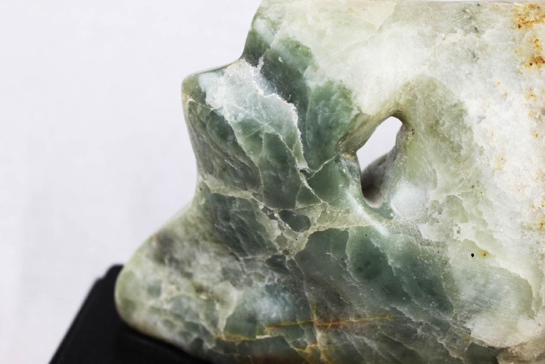 Hand Carved Stone Jade - 7