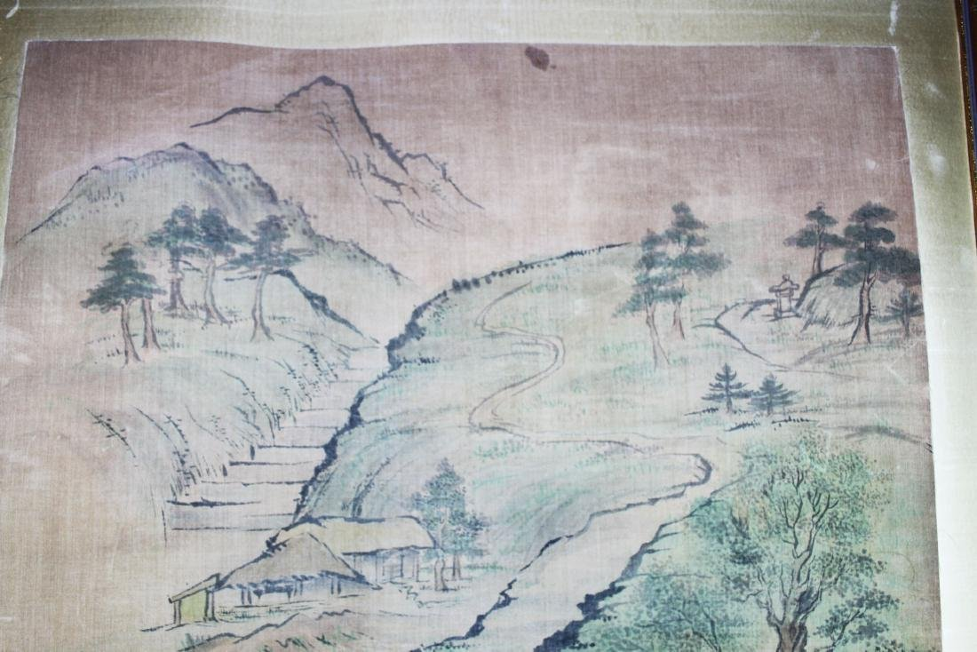 Antique Chinese Paiting on Silk Paper - 2