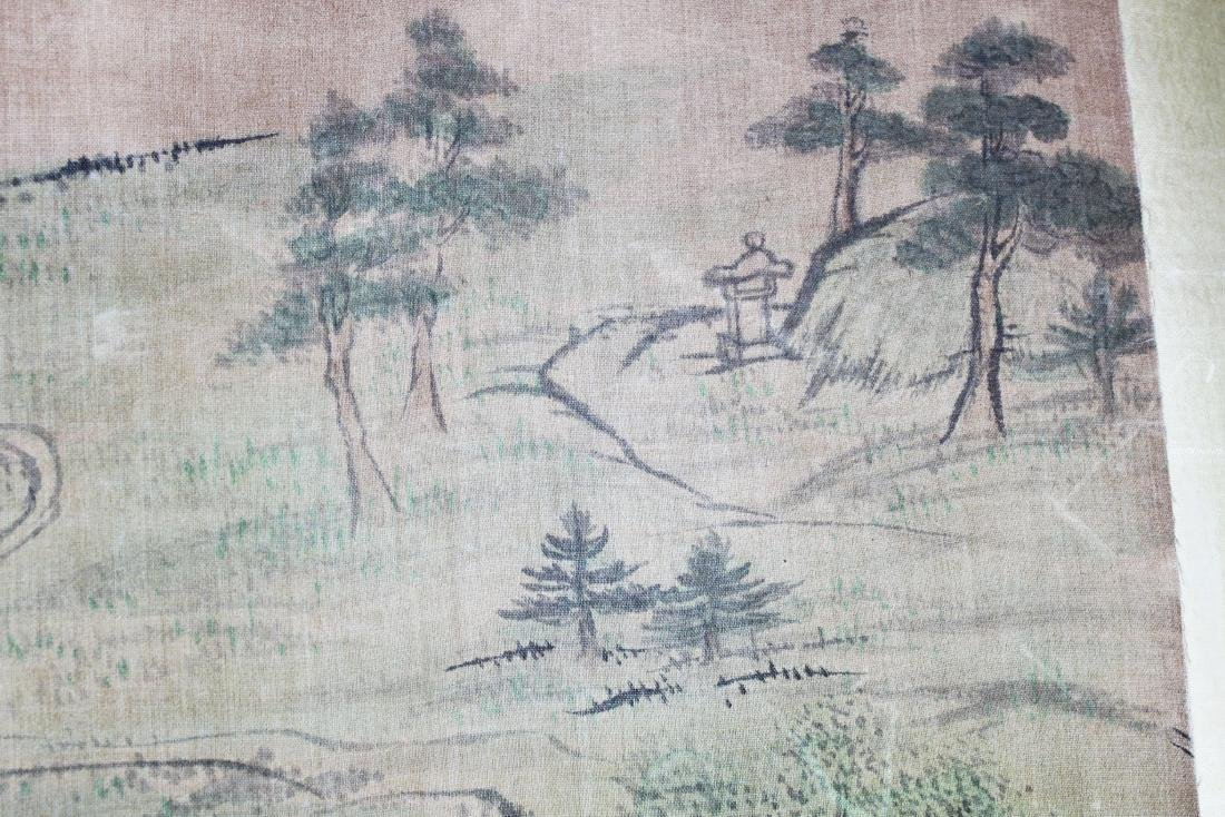 Antique Chinese Paiting on Silk Paper - 4