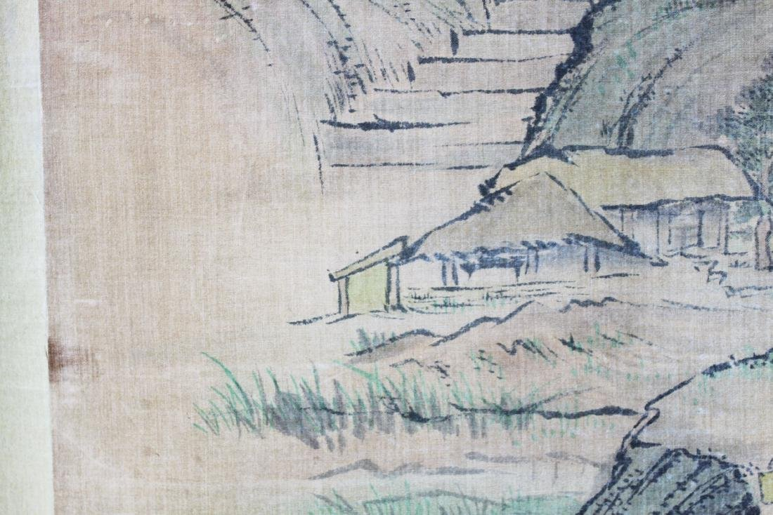 Antique Chinese Paiting on Silk Paper - 5