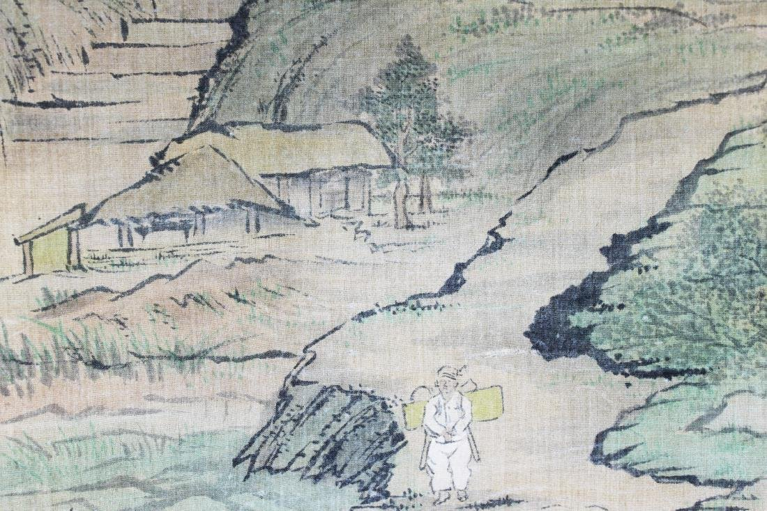 Antique Chinese Paiting on Silk Paper - 6