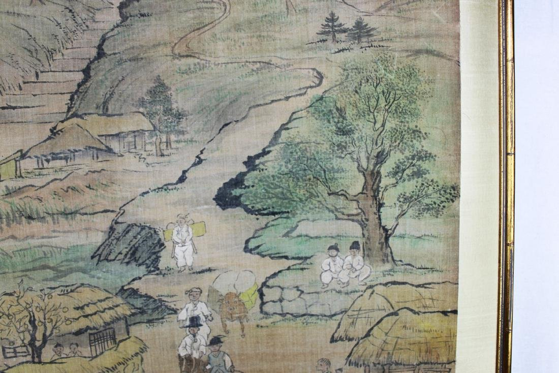 Antique Chinese Paiting on Silk Paper - 7