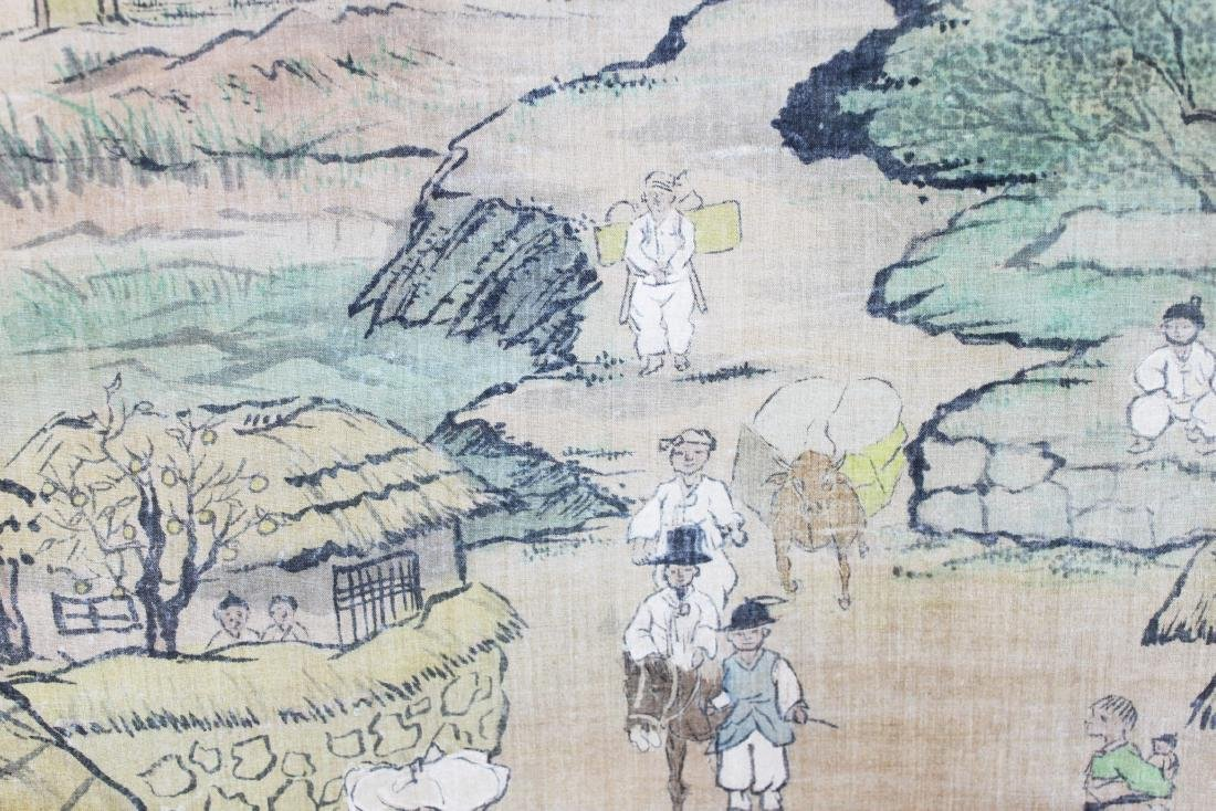 Antique Chinese Paiting on Silk Paper - 8