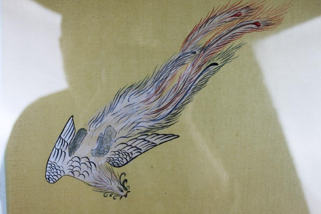 Antique Chinese Hand Painting - 3
