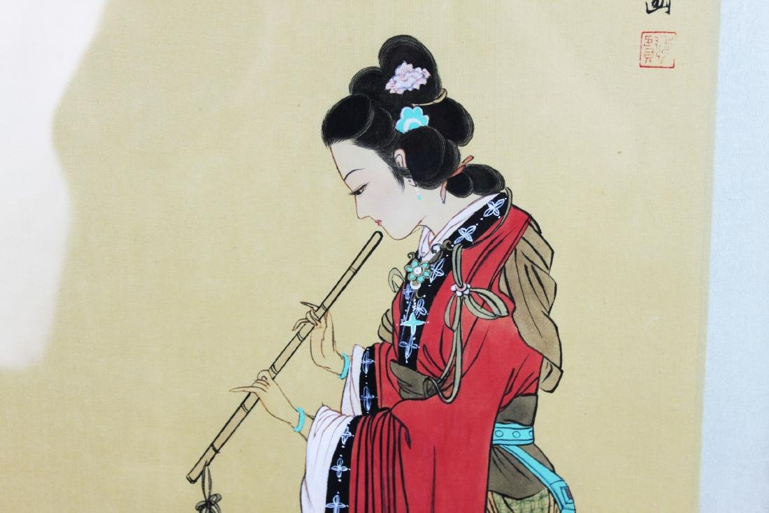 Antique Chinese Hand Painting - 6