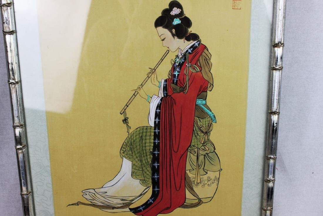 Antique Chinese Hand Painting - 8
