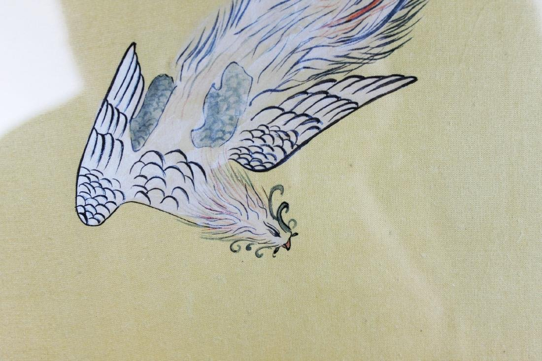 Antique Chinese Hand Painting - 9