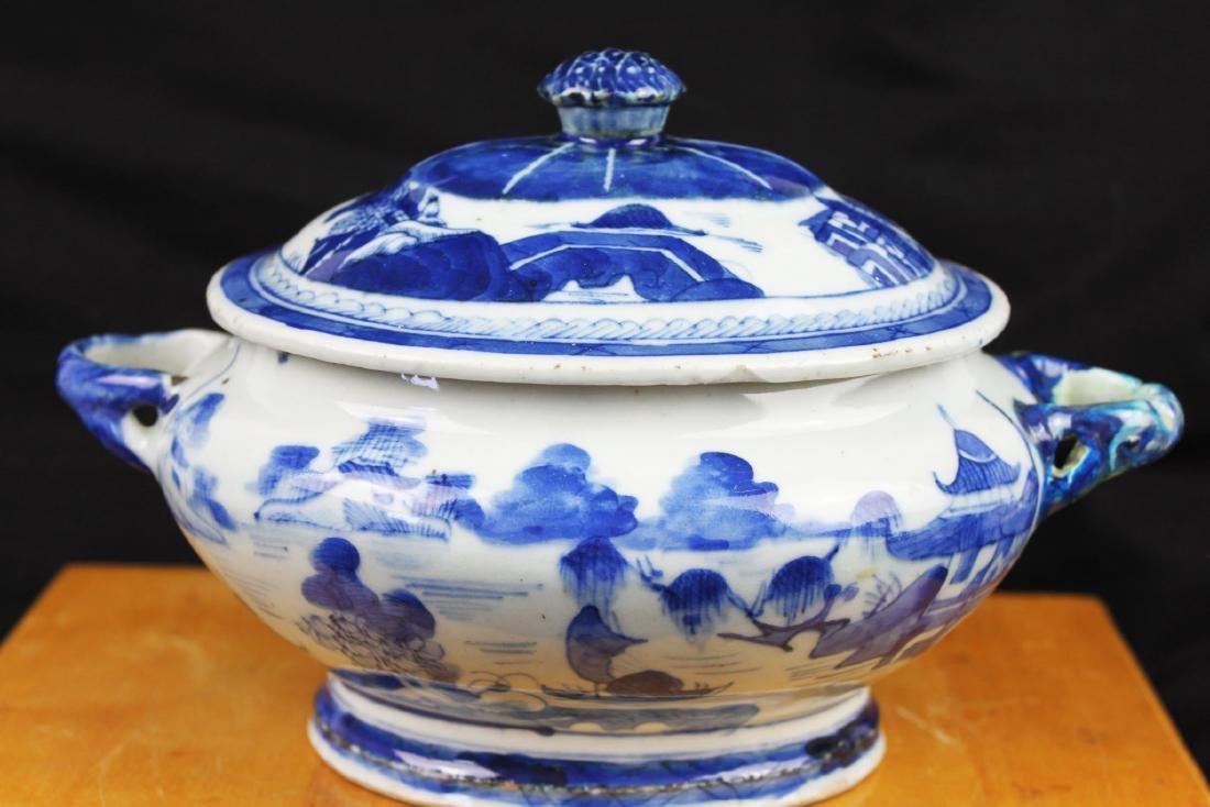 Antique Chinese Blue&White porcelain Bowl