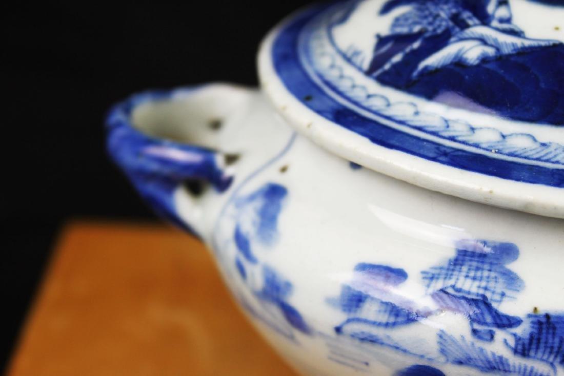 Antique Chinese Blue&White porcelain Bowl - 2