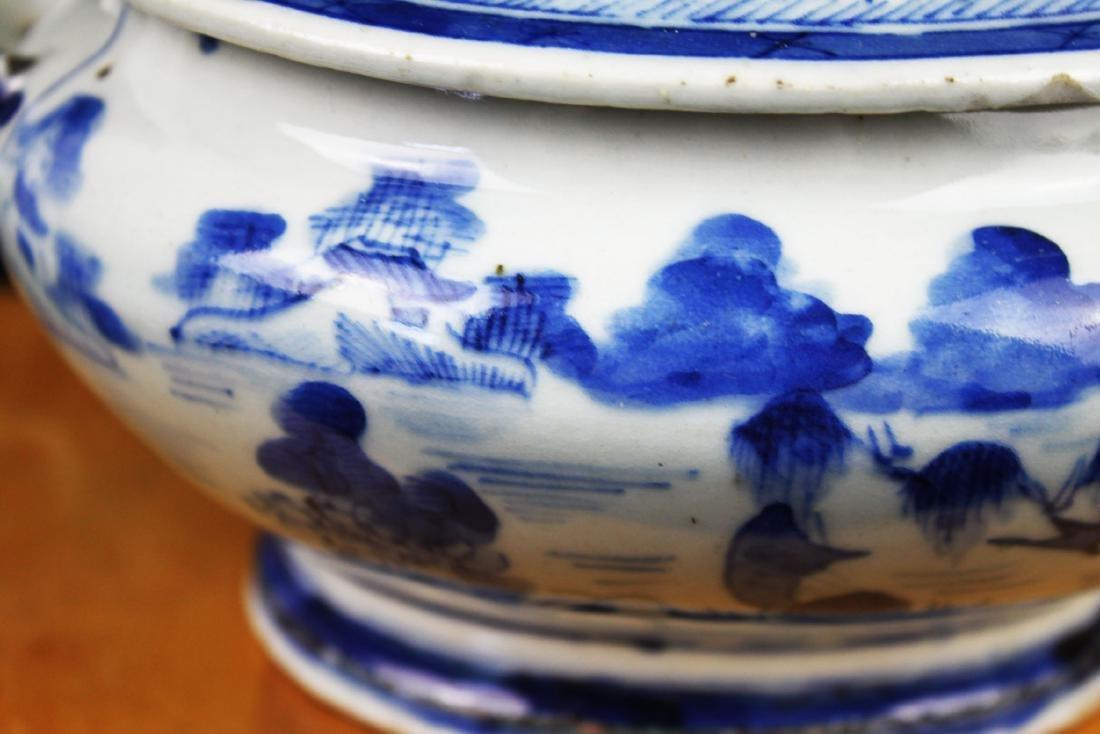 Antique Chinese Blue&White porcelain Bowl - 3