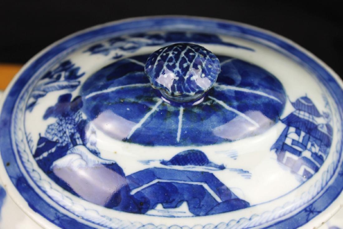 Antique Chinese Blue&White porcelain Bowl - 6