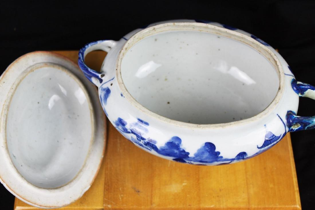 Antique Chinese Blue&White porcelain Bowl - 7