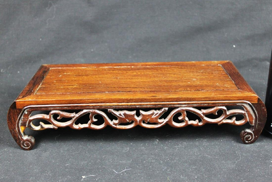 Chinese Hand Carved Wood Base