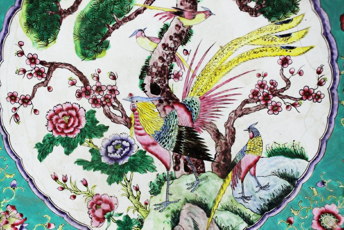 Antique Wucai Porcelain Plate from 1900s - 6