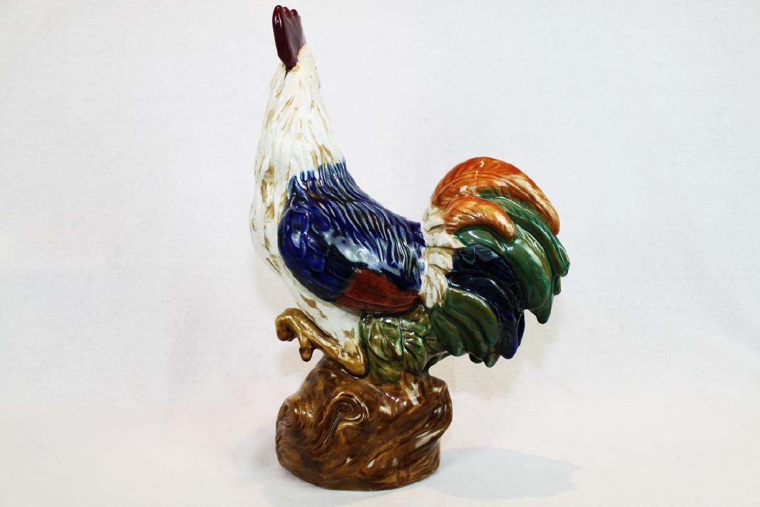 Large Ceramic/Porcelain Rooster - 4