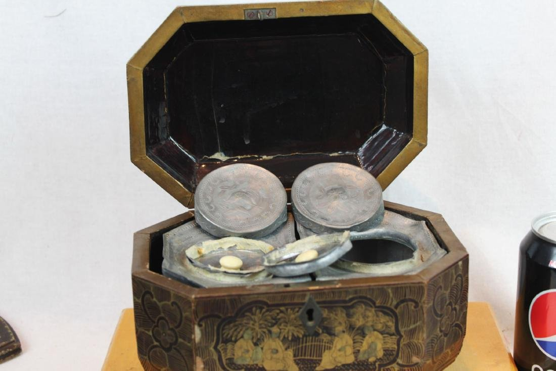 Antique Chinese Tea Box