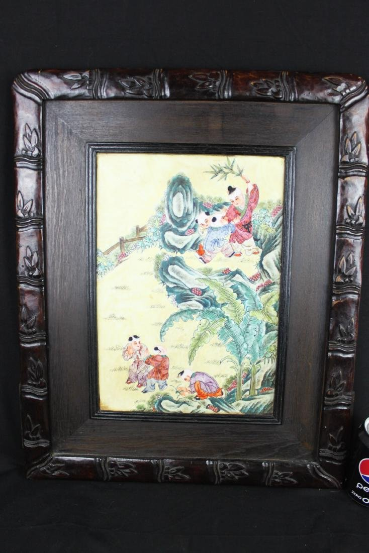 Antique Chinese Porcelain Painting
