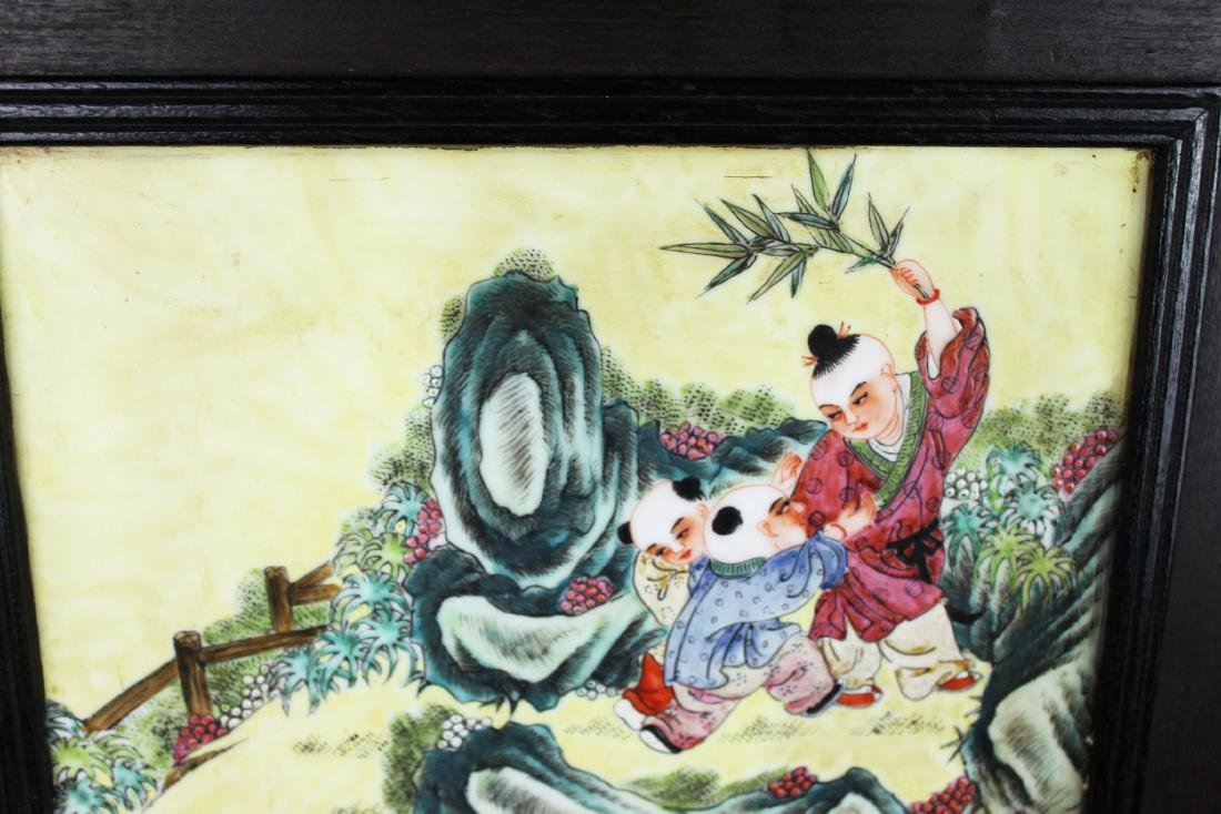 Antique Chinese Porcelain Painting - 5