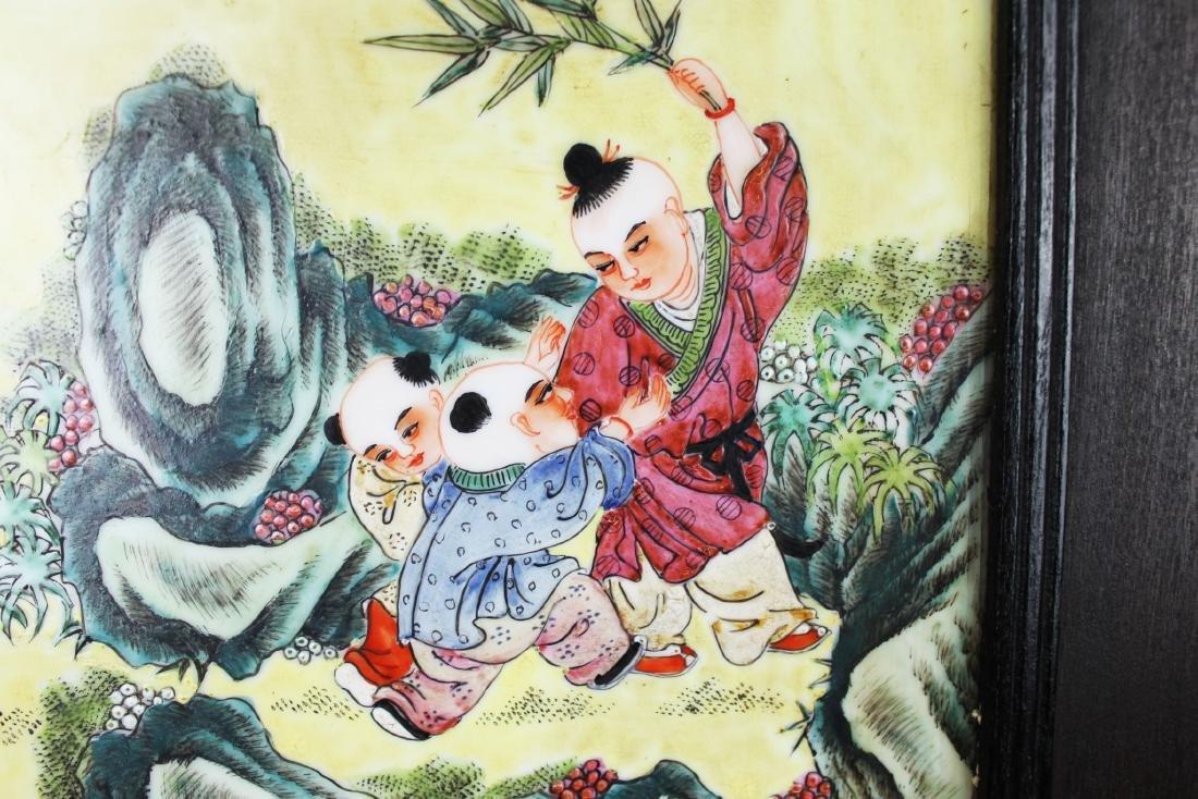 Antique Chinese Porcelain Painting - 6