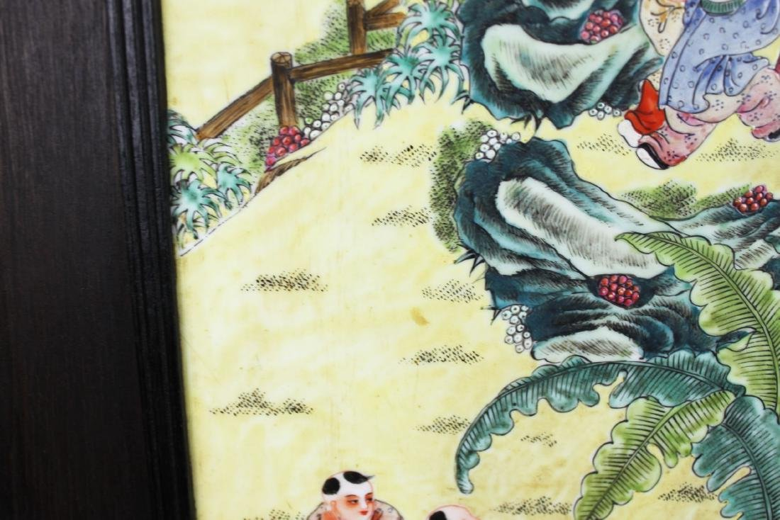 Antique Chinese Porcelain Painting - 7