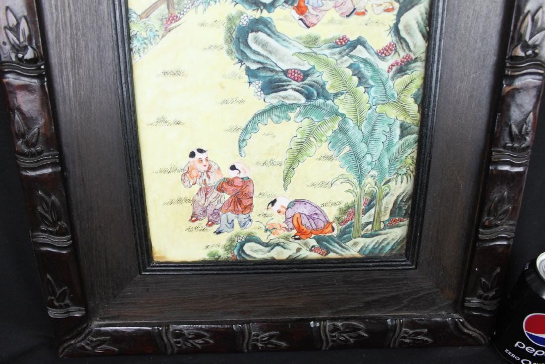 Antique Chinese Porcelain Painting - 9