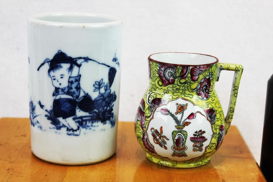 Two Antique Chinese Porcelain Jars