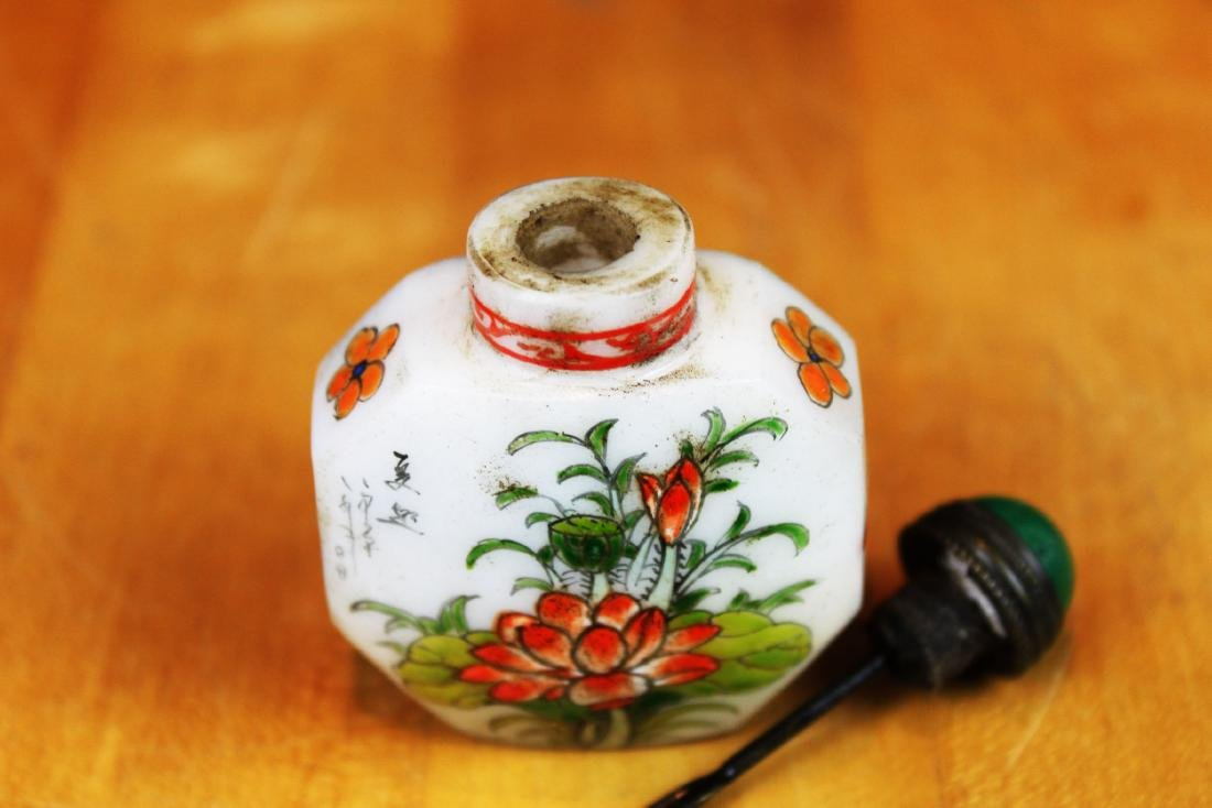 Antique Chinese Snuff Bottle - 4