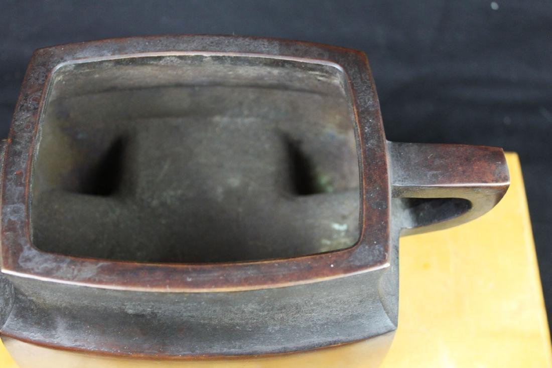 Antique Chinese Bronze Sensor - 4
