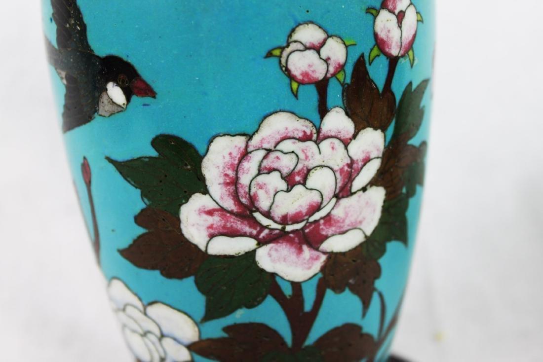 Antique Chinese Cloisonne Vase - 4