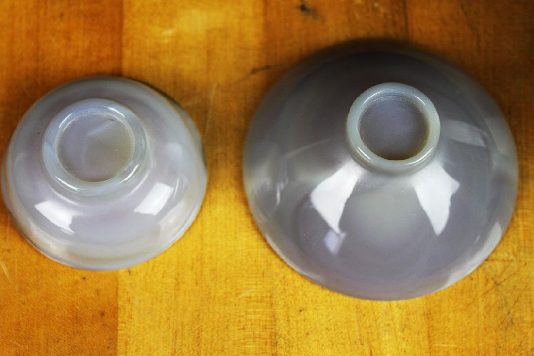 Two Chinese Agate Bowls - 2